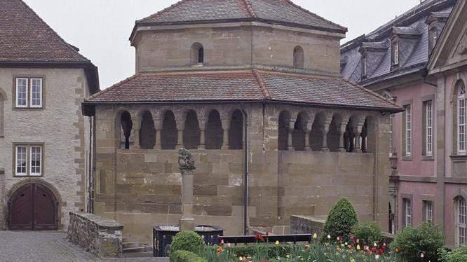 Hexagonal chapel, Großcomburg Monastery; photo: Staatliche Schlösser und Gärten Baden-Württemberg, Arnim Weischer