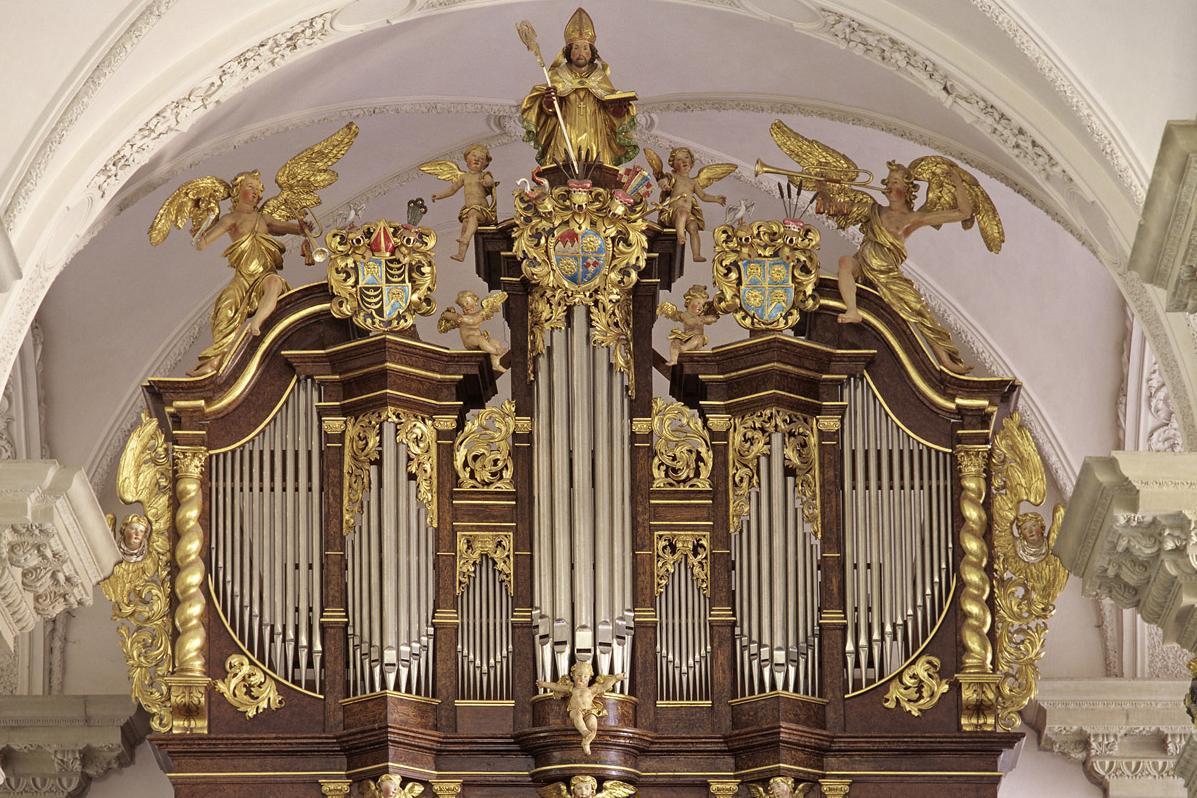 Orgel der Stiftskirche St. Nikolaus des Klosters Großcomburg