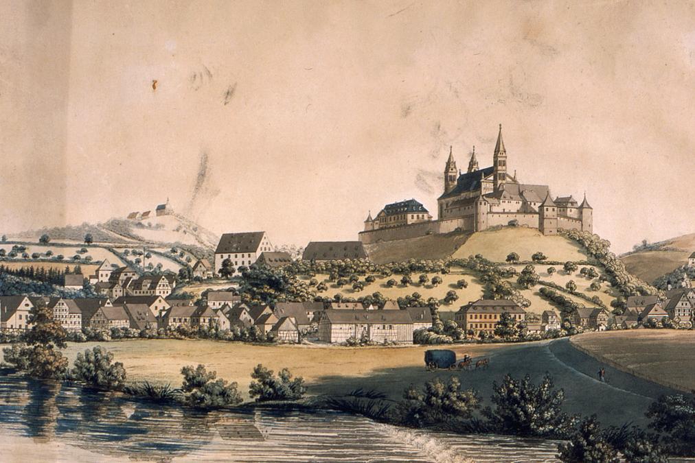Außenansicht des Klosters Großcomburg