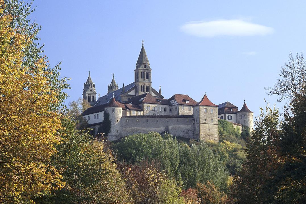 Blick auf Kloster Großcomburg
