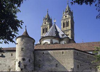 Teil der Ringmauer von Kloster Großcomburg