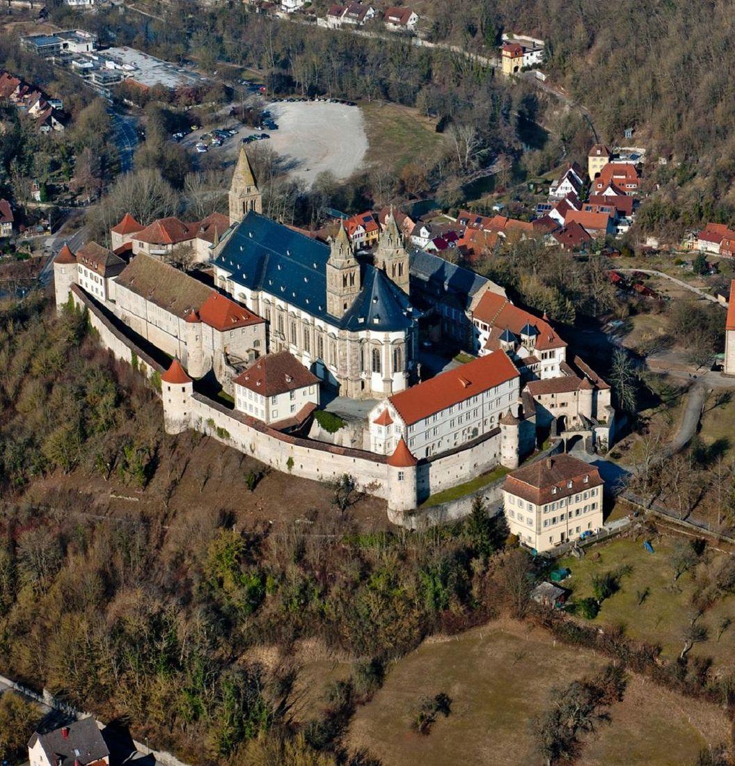 Grosscomburg Monastery, exterior view