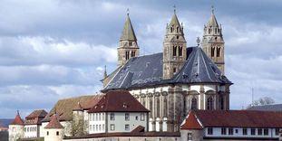 Außenansicht von Kloster Großcomburg