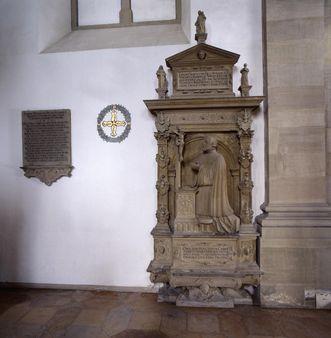 Grabmal des Erasmus Neustetter in der Stiftskirche St. Nikolaus des Klosters Großcomburg