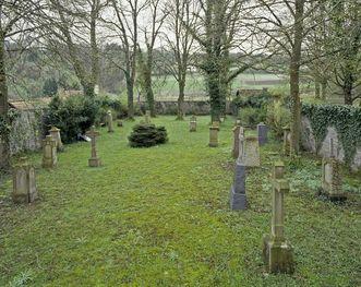 Blick auf den Ehreninvalidenfriedhof beim Kloster Großcomburg; Foto: Staatliche Schlösser und Gärten Baden-Württemberg, Arnim Weischer