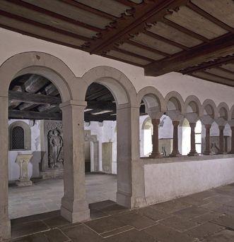 Innenansicht der Schenkenkapelle von Kloster Großcomburg; Foto: Staatliche Schlösser und Gärten Baden-Württemberg, Arnim Weischer
