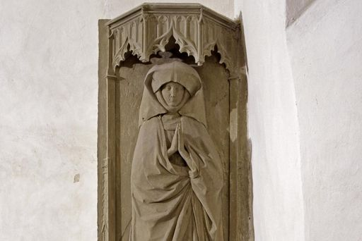 Grabmal der Stifterin Gräfin Susanna von Thierstein, 1468, in der Josefskapelle von Kloster Kloster Großcomburg