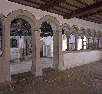 Innenansicht der Schenkenkapelle des Klosters Großcomburg