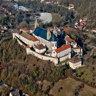 Monastère de Großcomburg; l'image: Staatliche Schlösser und Gärten Baden-Württemberg, Juergen Weller