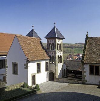 Kloster Großcomburg, Außenansicht der Michaelskapelle