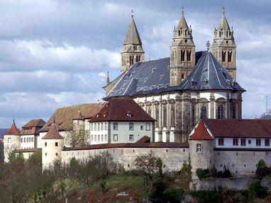 Kloster Großcomburg von außen